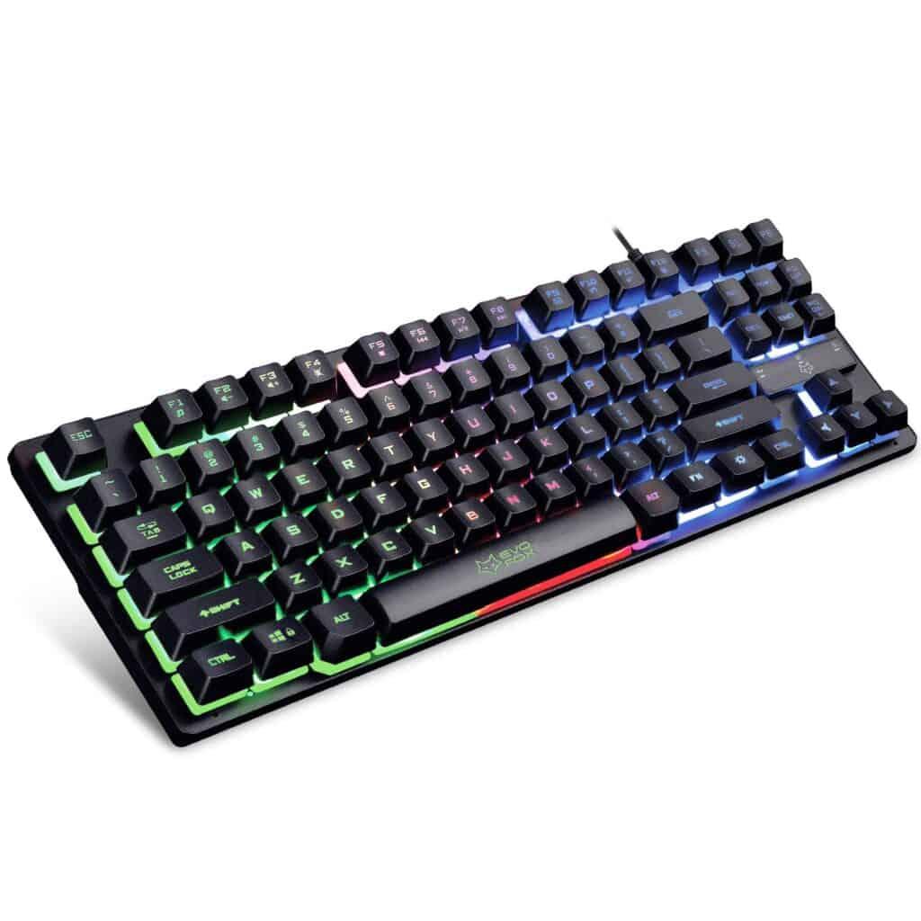 AMKETTE Evo Fox best keyboard under 1000 rupees