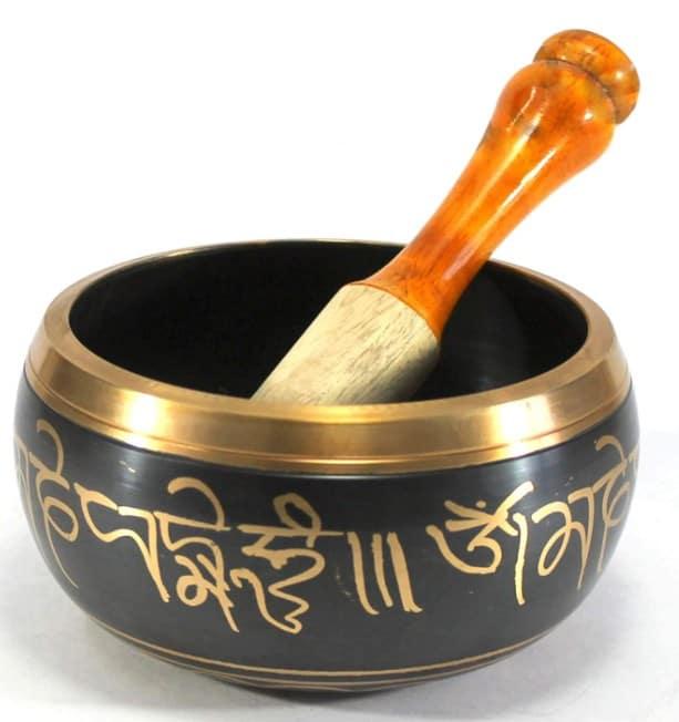 Singing Bowl Tibetan Buddhist Prayer Instrument With Striker Stick