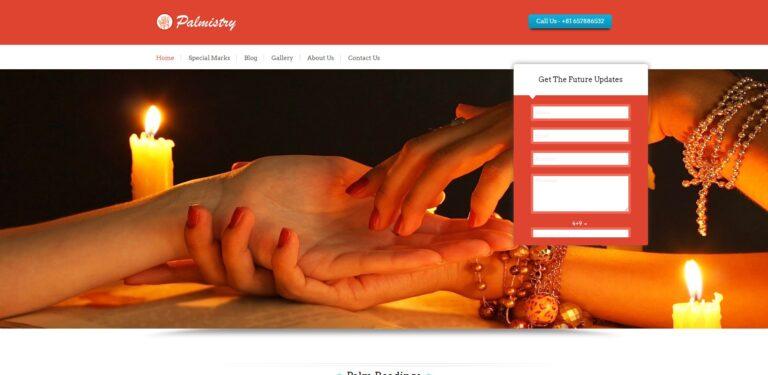 palmistry wordpress theme