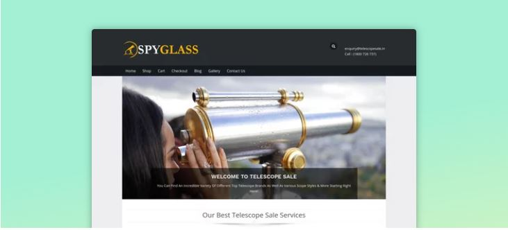 spyglass astrology wordpress theme