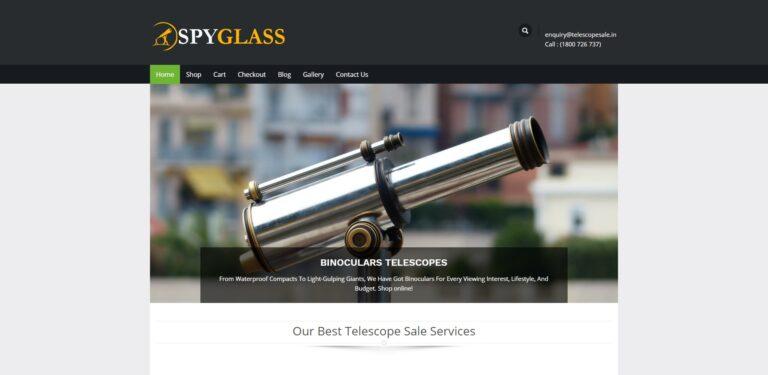 spyglass astronomy wordpress theme