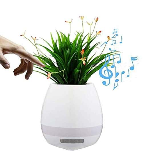 Smart Music Flowerpot Speaker Intelligent Touch