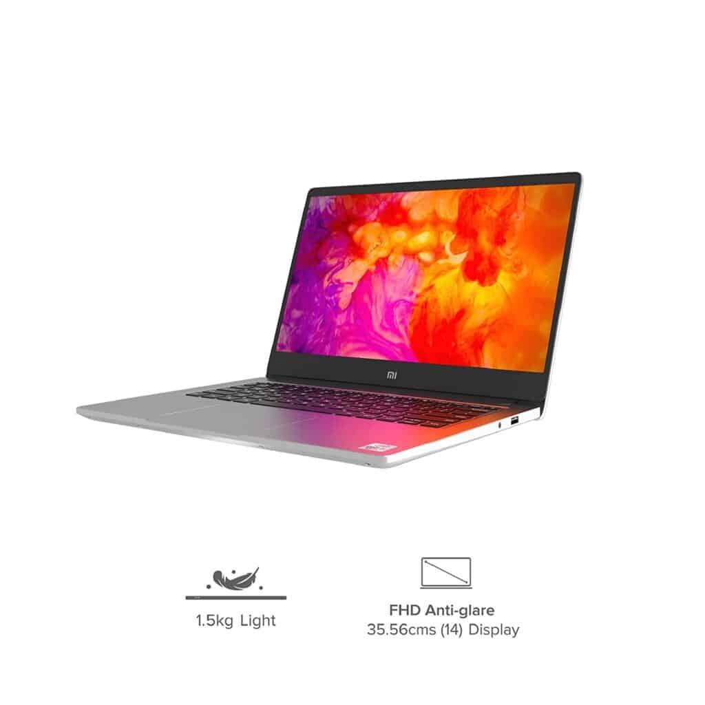 mi notebook 14 intel core i5-10210U
