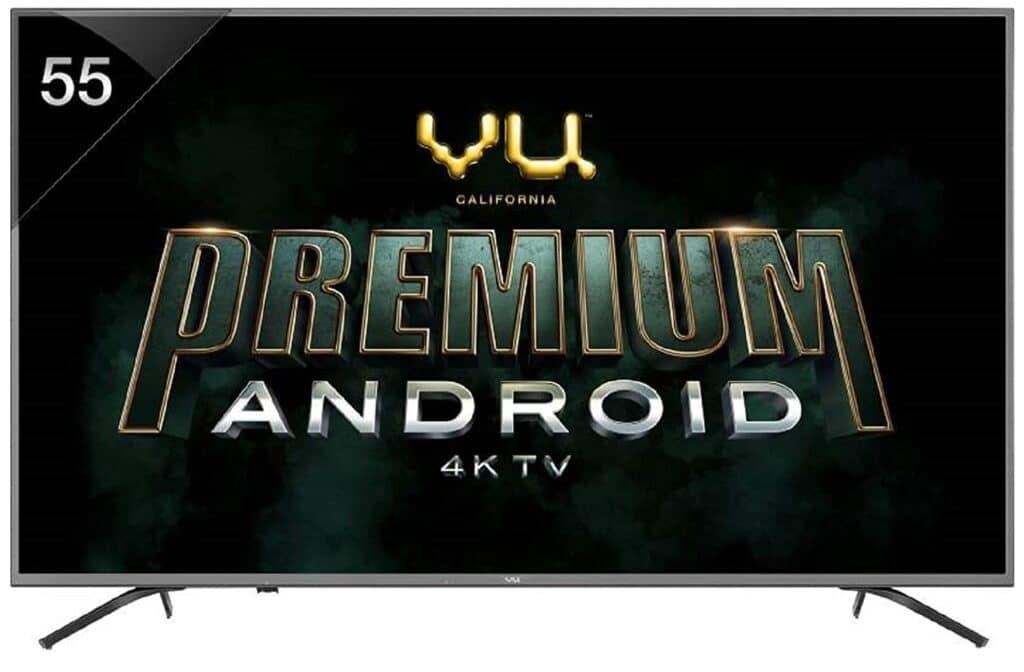 Vu 55 inch 4k smart tv