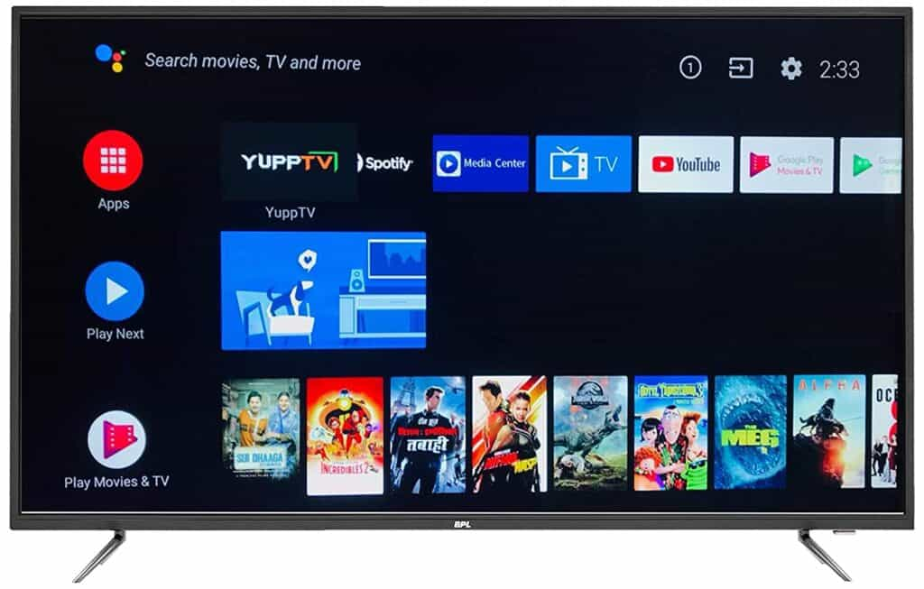 BPL 55 inch 4k UHD Led tv