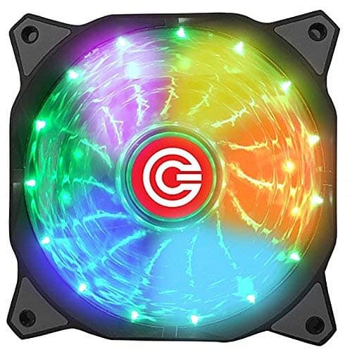 circle gaming 120mm RGB air cooler fan