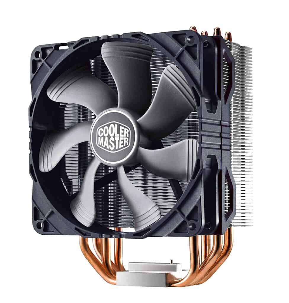 cooler master hyper 212x air cpu cooler fan