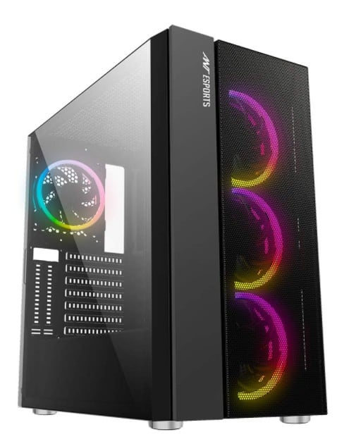 Ant Esports ICE-511MT Mid Tower Mesh RGB Gaming Cabinet