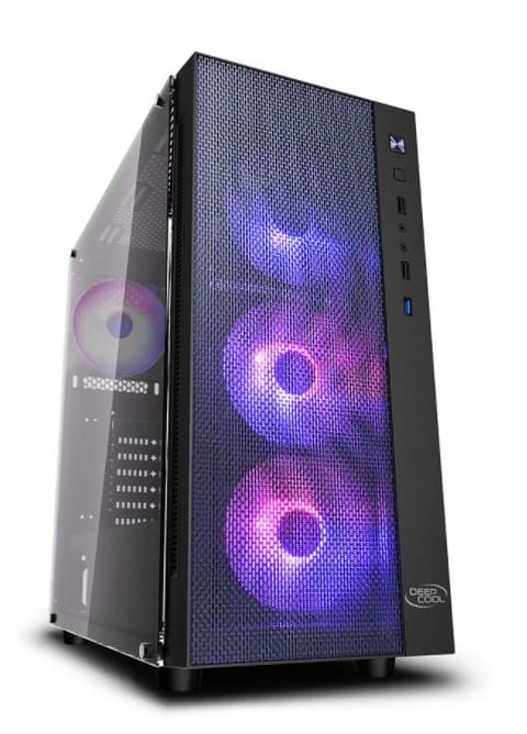 DeepCool Matrexx 55 Mesh Mid Tower Gaming case