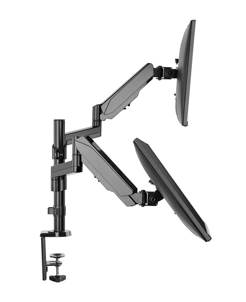 Rife Dual Height Adjustable Monitor Stand